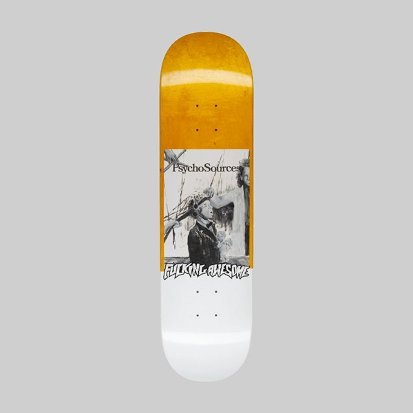FUCKING AWESOME DILL 'PSYCHO SOURCES' DECK 8.25""