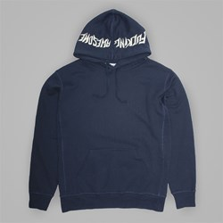 FUCKING AWESOME LOGO PO HOOD NAVY