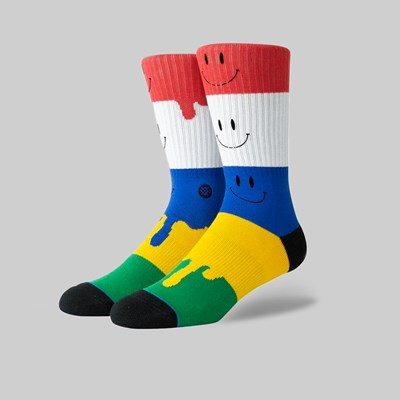 STANCE SOCKS FACE MELTER MULTI