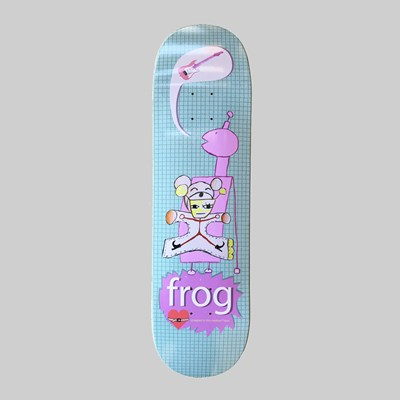FROG SKATEBOARDS STRAPPED IN DECK 8.5""