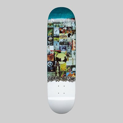 FUCKING AWESOME LOUIE LOPEZ COLLAGE DECK 8.25""