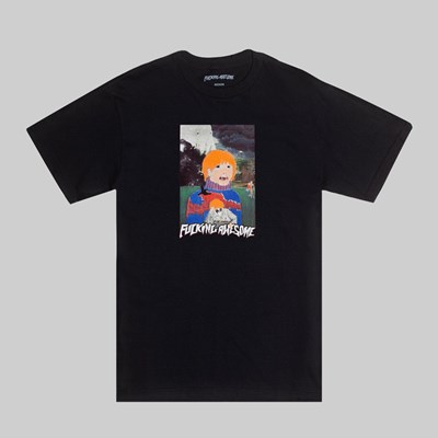 FUCKING AWESOME PAINTED SS T-SHIRT BLACK