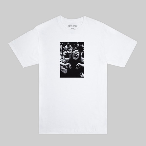 FUCKING AWESOME SCREAM SS T-SHIRT WHITE