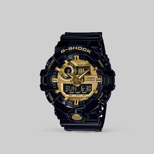 G SHOCK WATCH GA-710GB-1AER BLACK GOLD