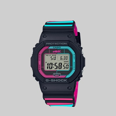 G-SHOCK X GORILLAZ GW-B5600GZ-1ER WATCH BLACK