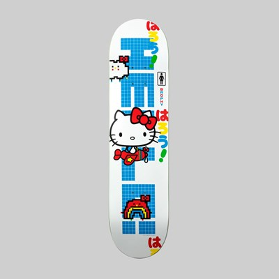 GIRL SKATEBOARDS X HELLO KITTY ANDREW BROPHY DECK 8.25""