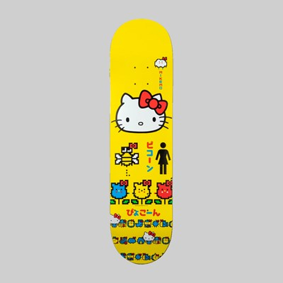 GIRL SKATEBOARDS X HELLO KITTY MIKE MO DECK 8.25""