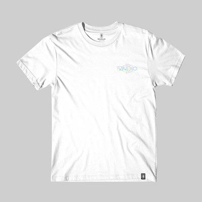 GIRL SKATEBOARDS X WAYWARD 'OG LOGO' TEE WHITE