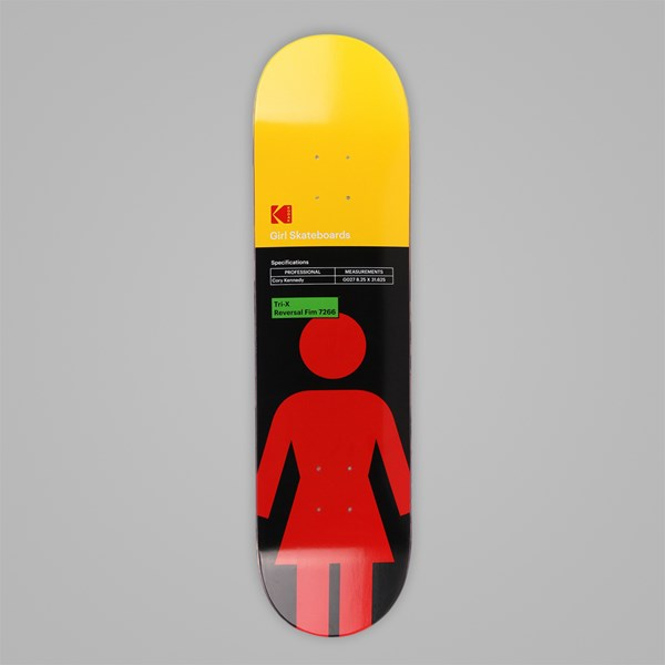 GIRL SKATEBOARDS X KODAK KENNEDY DECK 8.25""