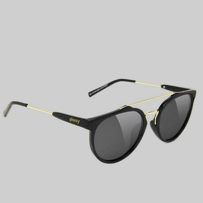GLASSY CHUCK POLARIZED SUNGLASSES BLACK GOLD