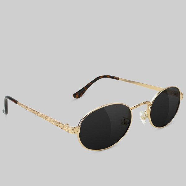 GLASSY ZION POLARIZED SUNGLASSES GOLD