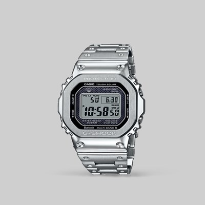 G SHOCK WATCH GMW-B5000D-1ER FULL METAL SILVER