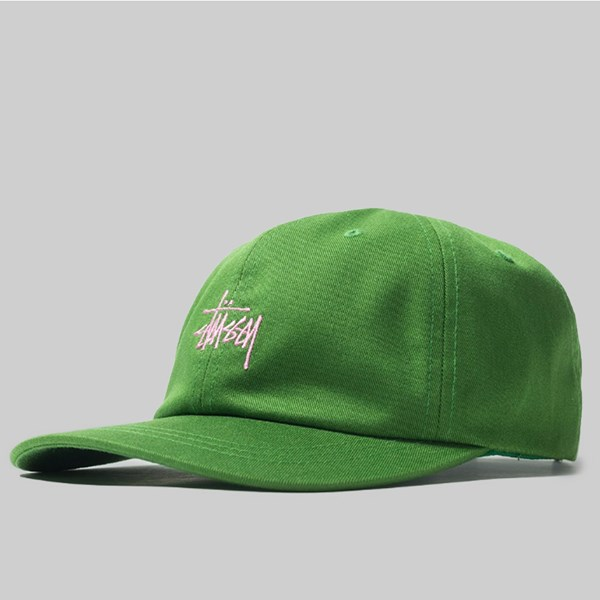 0c4255618560a STUSSY SP19 STOCK LOW PRO CAP GREEN