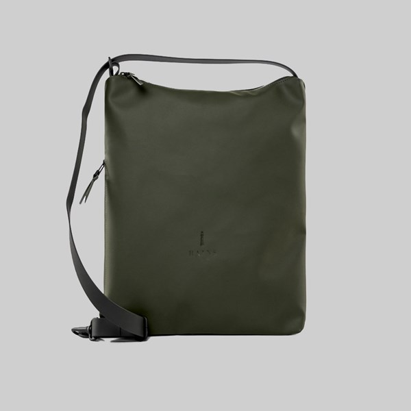 RAINS SLING BAG GREEN