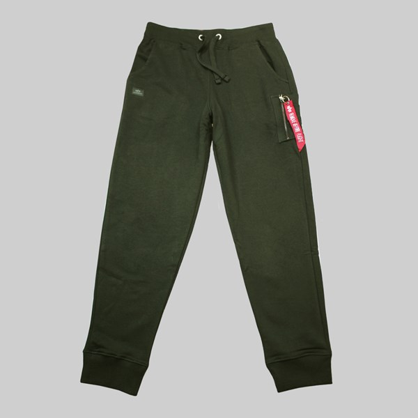 ALPHA INDUSTRIES X-FIT LOOSE CARGO PANT DARK GREEN