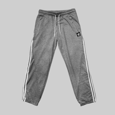 ADIDAS INSLEY SP TRACK PANT MEDIUM GREY WHITE