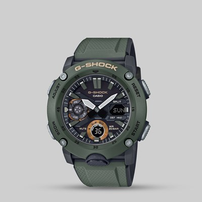 G SHOCK WATCH GA-2000-3AER CARBON CORE GUARD