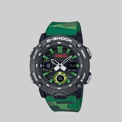 G-SHOCK X GORILLAZ GA-2000GZ-3AER WATCH CAMO
