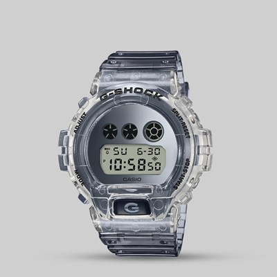G SHOCK WATCH DW-6900SK-1ER SUPER CLEAR SKELETON SERIES