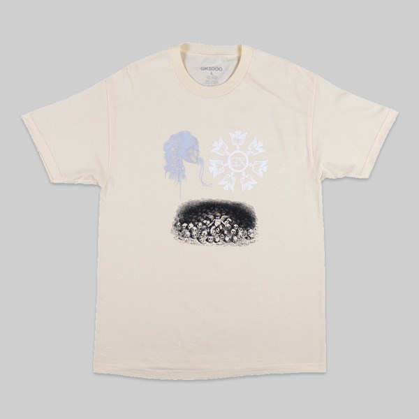 GX1000 DARK ENTRIES SS T-SHIRT CREME