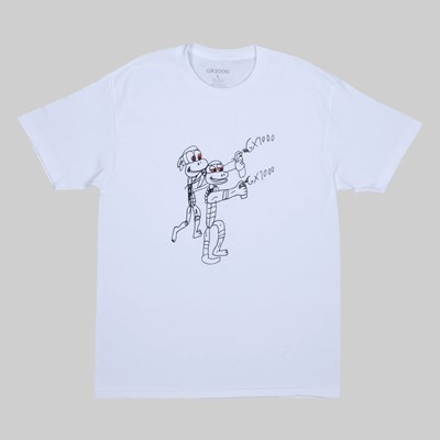 GX1000 SPRAY SS T-SHIRT WHITE