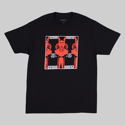 GX1000 WITHOUT FEAR SS T-SHIRT BLACK