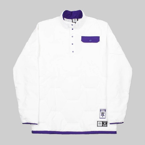 ADIDAS X HARDIES JACKET WHITE COLLEGIATE PURPLE