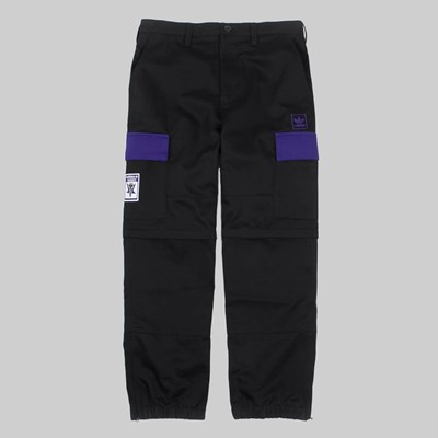 ADIDAS X HARDIES PANTS BLACK COLLEGIATE PURPLE