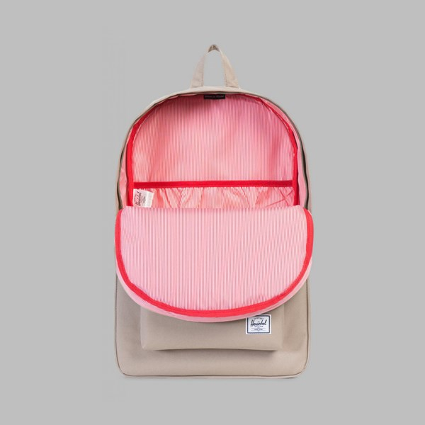 HERSCHEL HERITAGE BACKPACK BRINDLE-TORTOISE SHELL RUBBER