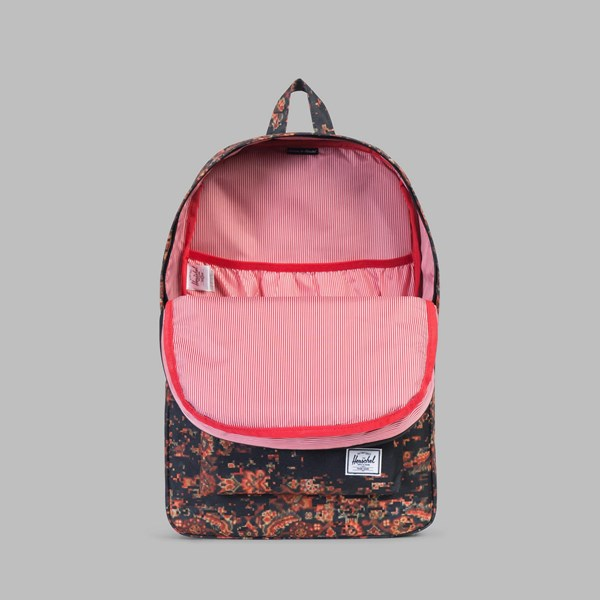 HERSCHEL HERITAGE BACKPACK CENTURY-BLACK