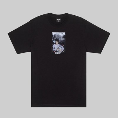 HOCKEY LAMB GIRL SS T-SHIRT BLACK