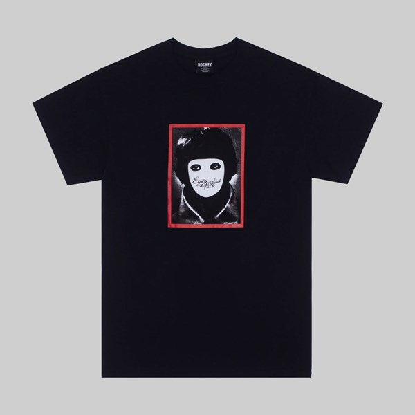 HOCKEY SKATEBOARDS NO FACE SS T-SHIRT BLACK