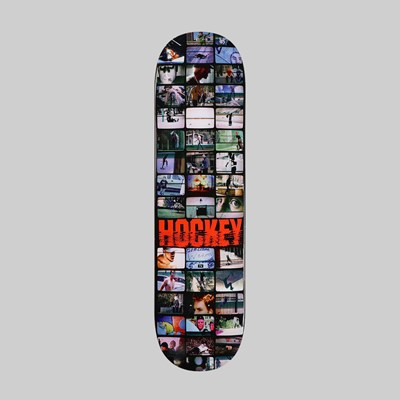 HOCKEY SKATEBOARDS TEAM 'SCREENS' DECK 8.25