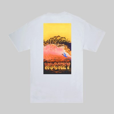 HOCKEY SKATEBOARDS 'SILVER SURF' SS T-SHIRT WHITE