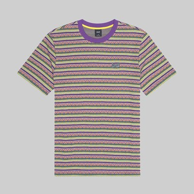 HUF ALLEN SS KNIT TOP GRAPE