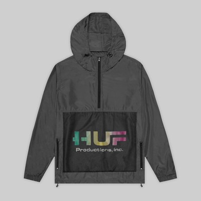 HUF PRODUCTIONS INC JACKET BLACK