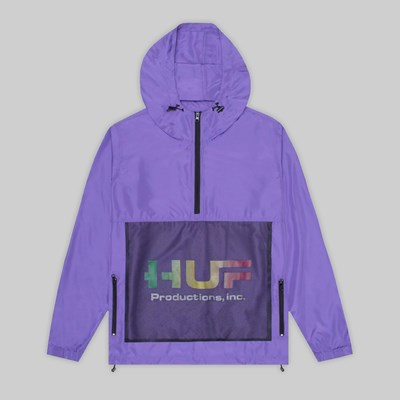 HUF PRODUCTIONS INC JACKET ULTRA VIOLET