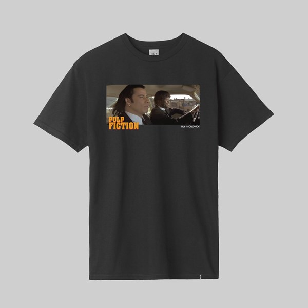 HUF X PULP FICTION ROYALE WITH CHEESE SS TEE BLACK
