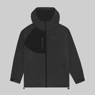 HUF STANDARD SHELL 2 JACKET BLACK