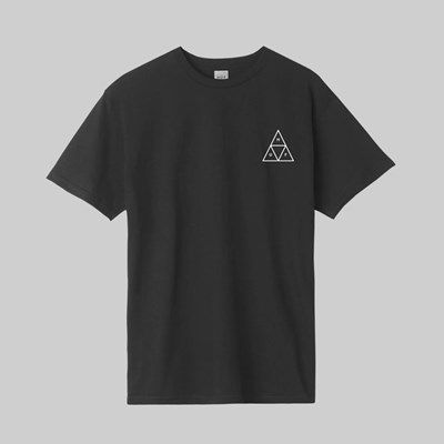 HUF DYSTOPIA TRIPLE TRIANGLE SS T-SHIRT BLACK