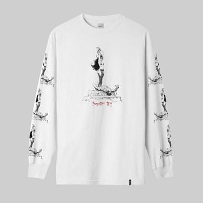 Huf Skateboard Longsleeve Shirt Frazetta Sacrifice Black