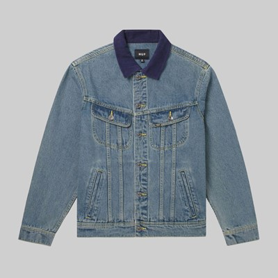 HUF PRAYERS DENIM JACKET INDIGO
