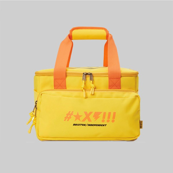 BRIXTON X INDY SHINE COOLER YELLOW