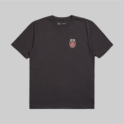 BRIXTON X INDY HEDGE SS T-SHIRT WASHED BLACK