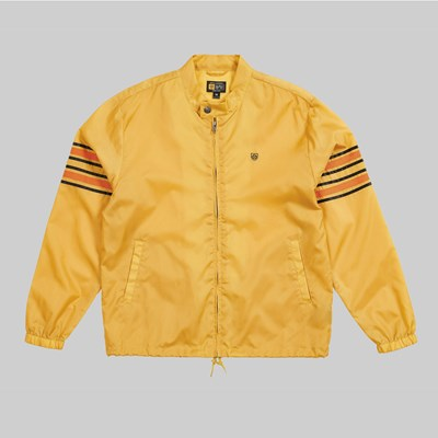 53842c34134 BRIXTON X INDY ENDER JACKET YELLOW