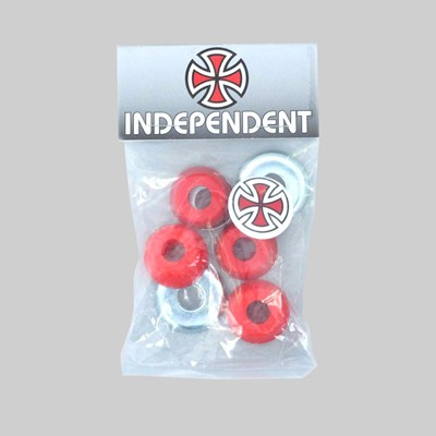 INDY TRUCKS BUSHINGS STANDARD 90A RED