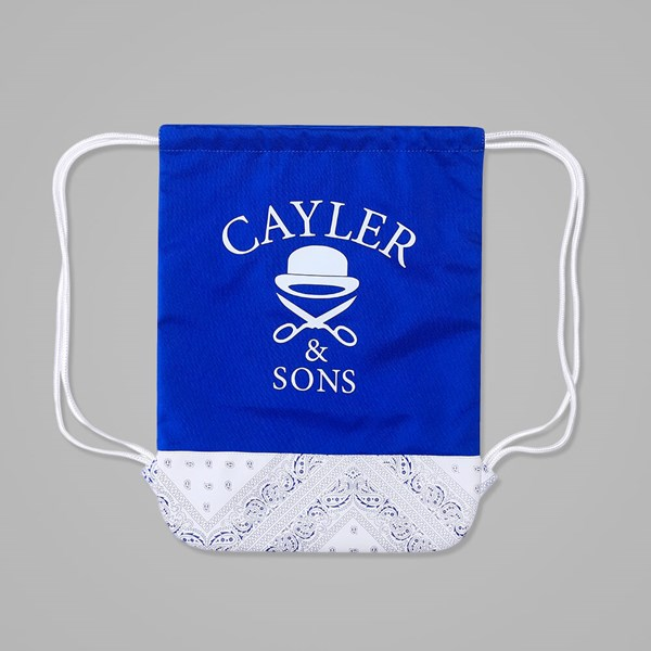 Cayler & Sons Ivan Antonov Gym Bag Blue-White
