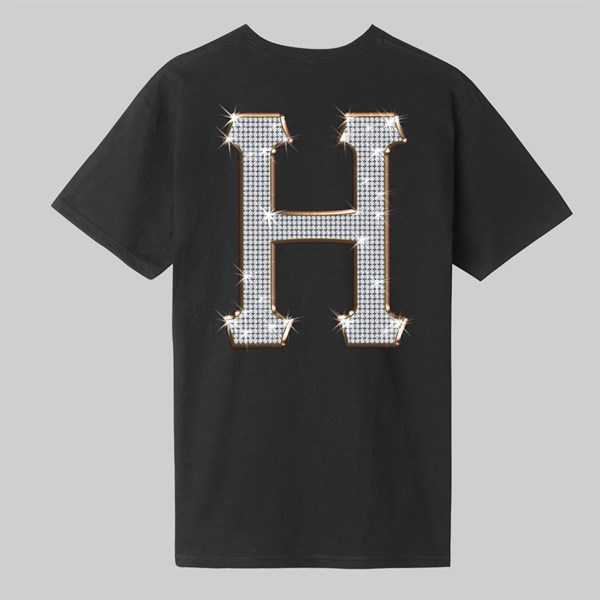 HUF JACOB CLASSIC H SS T-SHIRT BLACK