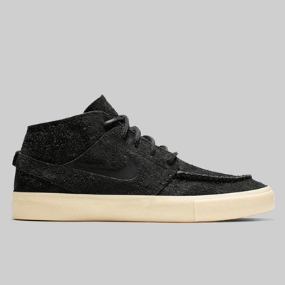 NIKE SB JANOSKI MID ULTRA CRAFTED BLACK GOLDEN BEIGE
