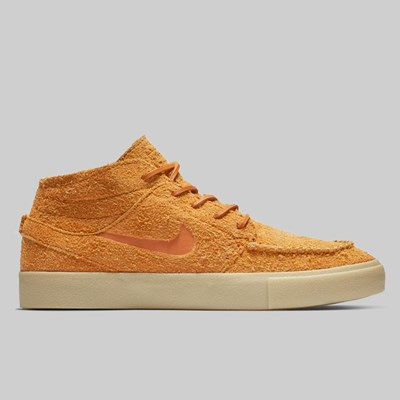 NIKE SB JANOSKI MID ULTRA CRAFTED CINDER ORANGE TEAM GOLD